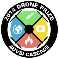 AUVSI Drone Prize Logo