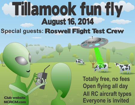 Tillamook Fly-In Poster 2014