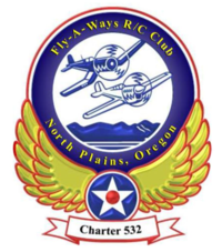 Fly-A-Ways RC Flying Club Crest