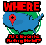 Web -- Where are Events Being Held