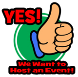Yes! We Want to Host an Event!