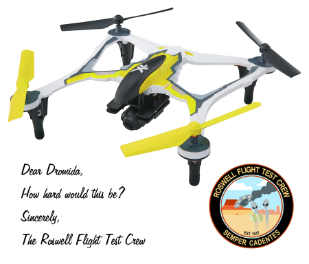Yellow Dromida XL FPV